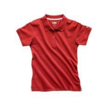 GILL WOMENS POLO SHIRT 167W - RED - LAST ONES