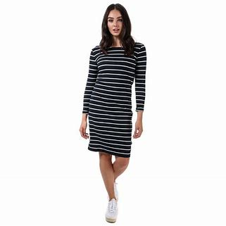 Henri Lloyd Maddie Stripe Long Sleeve Dress