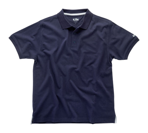 Gill Cotton Mens Polo 167 - BLACK, NAVY OR WHITE