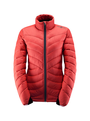 Henri Lloyd Aqua Down Women's Jacket - Coral
