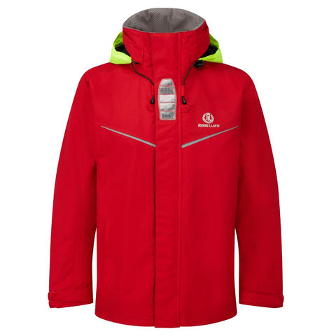 HENRI LLOYD INSHORE / COAST JACKET  RED (SIZE XL)