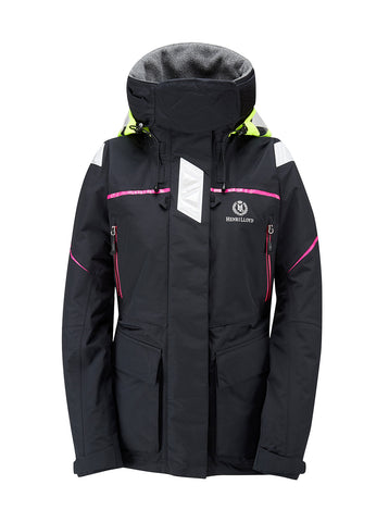 Henri Lloyd Freedom Offshore / Coastal  Jacket Womens Pink / Black - LAST ONES