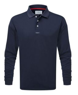 Henri Lloyd Fast Dri Polo Long Sleeve MRN