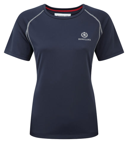 Henri Lloyd Women's Mono Tee Navy - LAST ONE- Discontinued Style - size medium only
