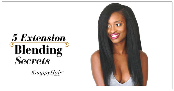 Blending your hair with clip ins knappy hair extensions 5 tips hair extension blending secrets from youtube celebrity lakiastar pmusecretfo Choice Image