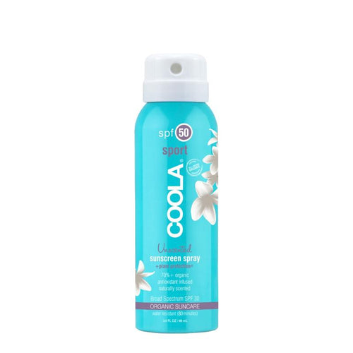 COOLA Sport Continuous Spray SPF50 Unscented 88 ml Hudpleje COOLA