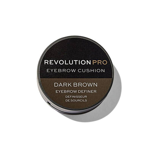 Makeup Revolution Pro Eyebrow Cushion - Dark Brown 2,2 g Makeup Makeup Revolution