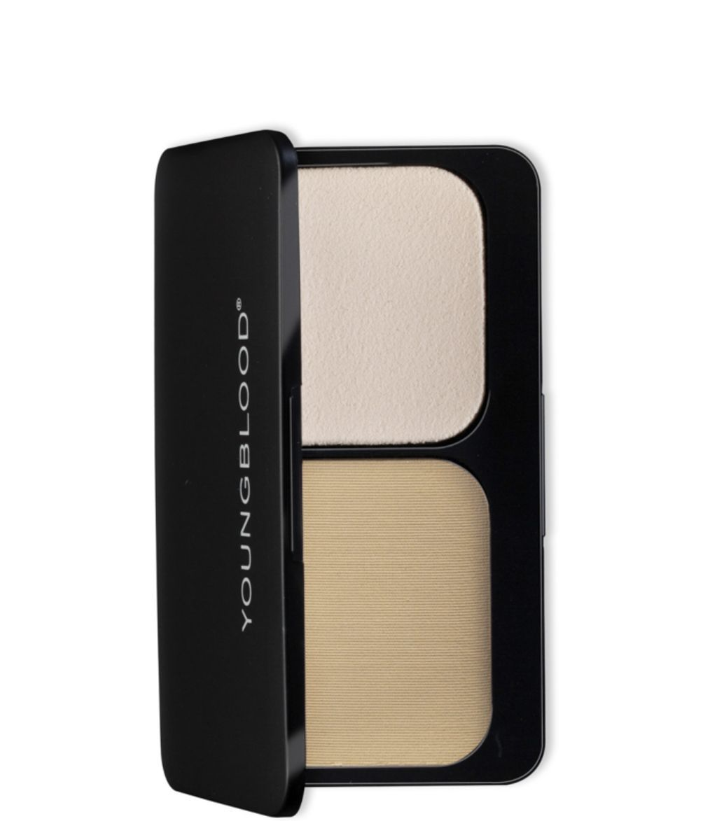 Youngblood Pressed Mineral Foundation Warm Beige 8g