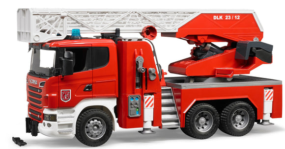 Bruder - Scania R-Series Fire Engine With Ladder