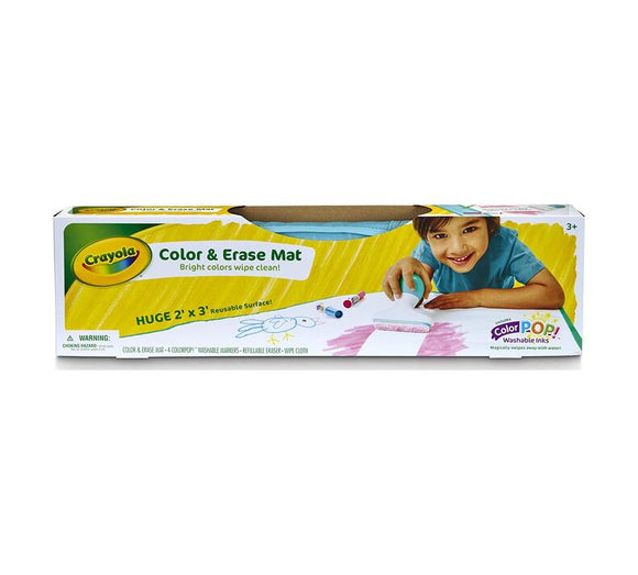 Crayola - Color & Erase Mat