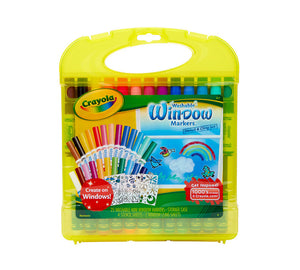 Crayola - Hardcase Kit - Window Markers