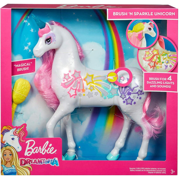 Barbie - Dreamtopia Brush'n Sparkle Unicorn