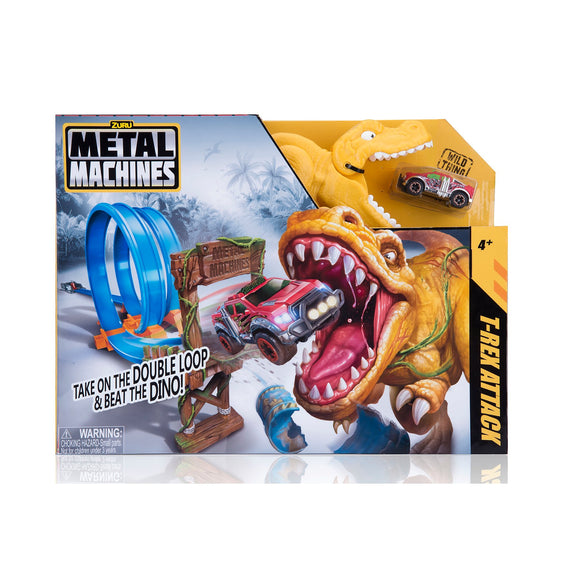 Metal -RexMachines Playset T-Rex
