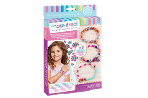 Make It Real - Bedazzled! Charnm Bracelets-Blooming Creativity