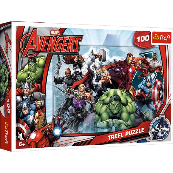 Trefl Puzzle - Marvel Avengers Let's Attack