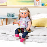Baby Born - Soft Touch Sister blond 43cm