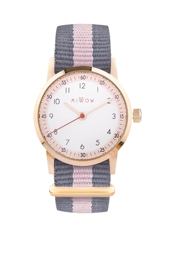 Millow Blossom - Stripe Pink Strap