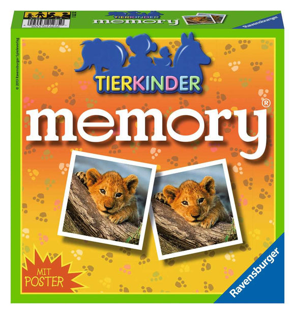 Ravensburger Puzzle - Tierkinder Тemory