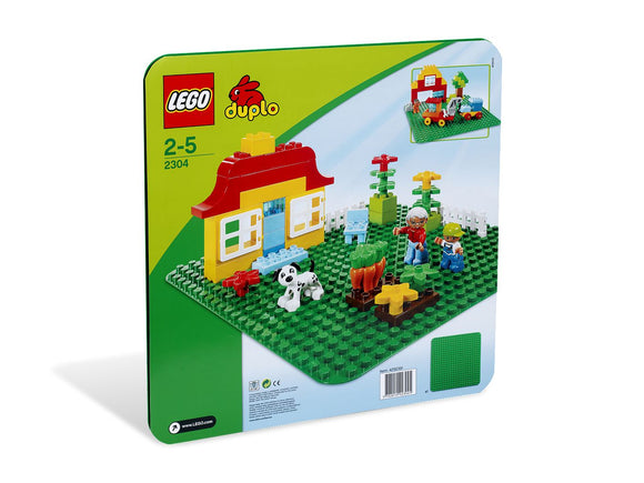 LEGO Duplo - Large Green Building Plate