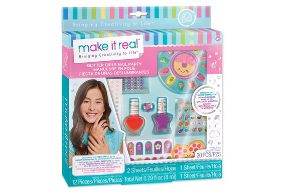 Make It Real - Glitter Girls Nail Party