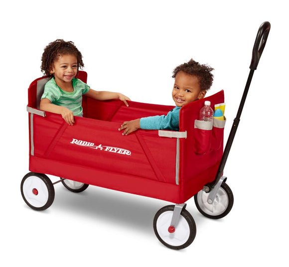 Radio Flyer - 3-IN-1 EZ FOLD WAGON