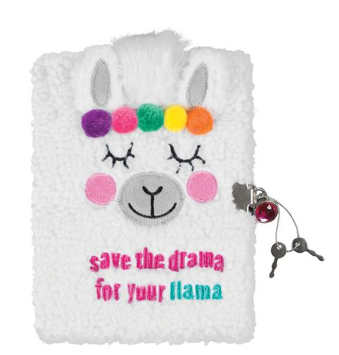 Make It Real - Llama Plush Journal
