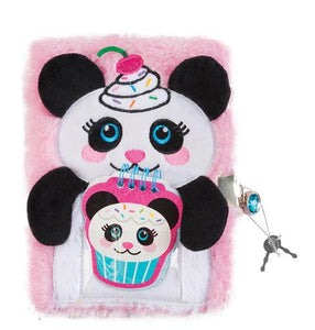Make It Real - Panda Plush Journal
