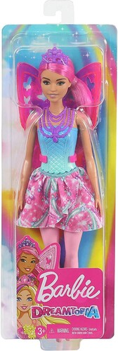 Barbie - Dreamtopia Fairy Doll Pink Hair