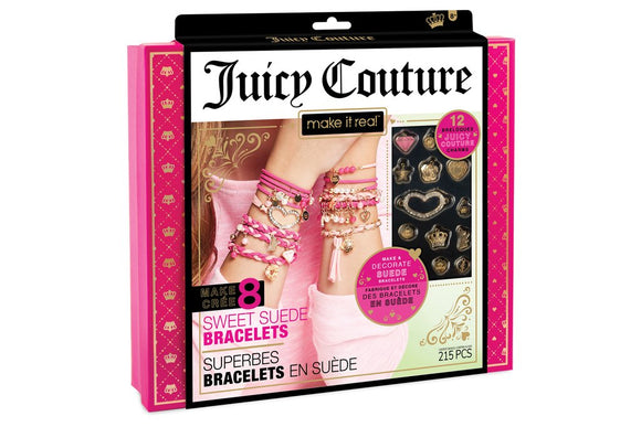 Make It Real - Juicy Couture Sweet Suede Bracelets
