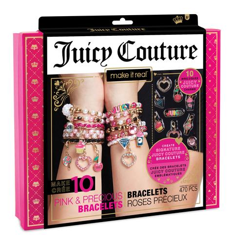 Make It Real - Juicy Couture Pink and Precious Bracelets