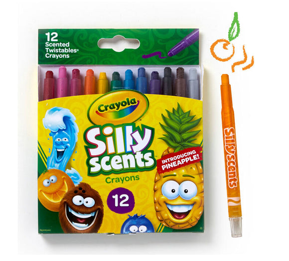 Crayola - Silly Scents Mini Twistables Crayons /12ш/