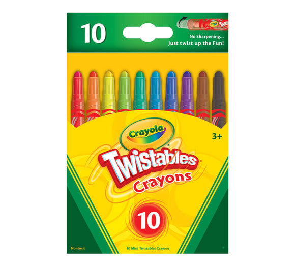 Crayola - Mini Twistable Crayons /10ш/