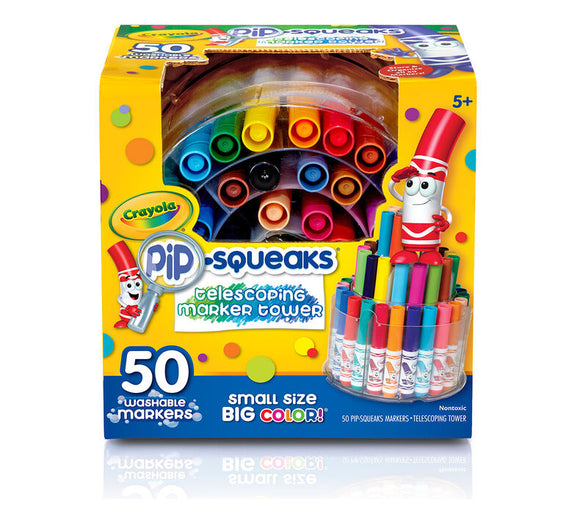 Crayola - Pip-Squeaks Washable Markers /50ш/
