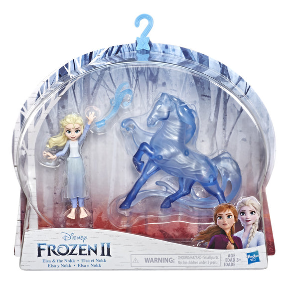HASBRO Frozen - Elsa Fashion Doll & Nokk Figure /жижиг/