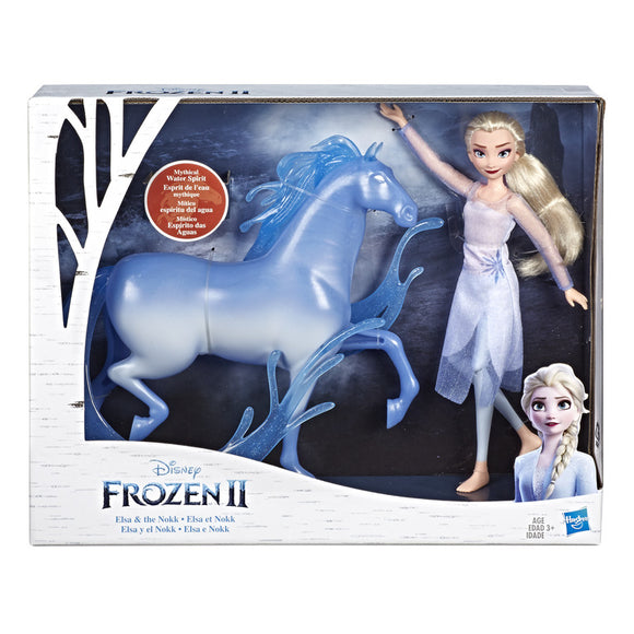 HASBRO Frozen - Elsa Fashion Doll & Nokk Figure