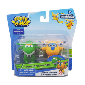 "Super Wings - Transform A Bots ""Donnie & Miral"""