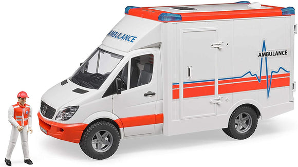Bruder - MB Sprinter Ambulance With Driver and L+S Module