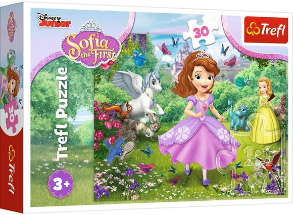 Trefl Puzzle - Girls Sofia In The Garden