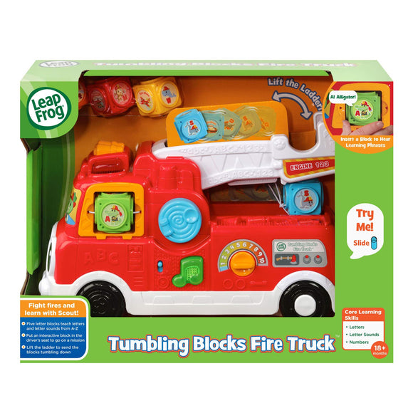 Leapfrog - Tumbling Blocks Fire Truck