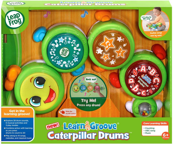 Leapfrog -  Learn and Groove Caterpillar Drums