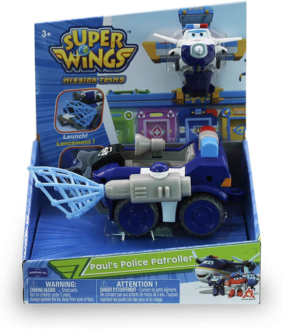 Super Wings - Paul's Police Rover