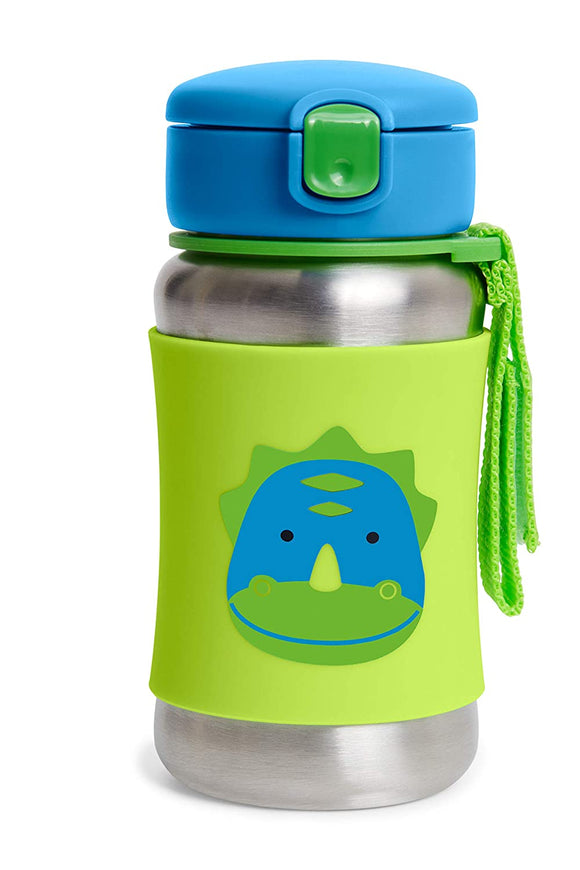 Skip Hop - Zoo SS Straw Bottle /Усны сав/