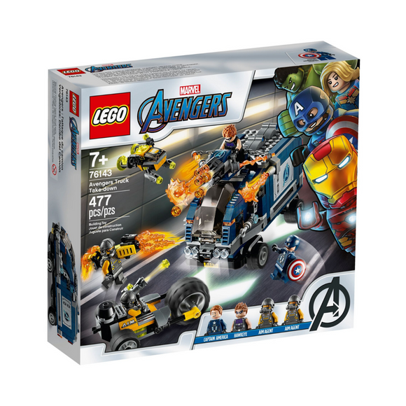 LEGO Marvel/76143/ - Avengers Truck Take-down