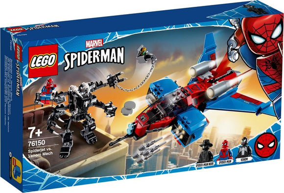 LEGO Marvel/76150/ - Spiderjet vs Venom Mech