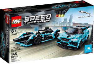 LEGO Speed/76898/ - Formula E Panasonic Jaguar Racing GEN2 Car & Jaguar I-PACE eTROPHY