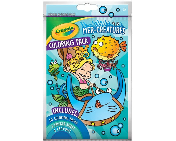 Crayola - Mer-Creatures Coloring Pack