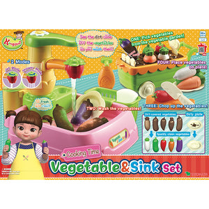 Kongsuni - Vegetable & Sink Set