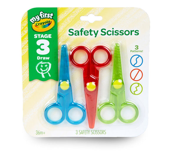Crayola - My First Crayola Safety Scissors 3 count