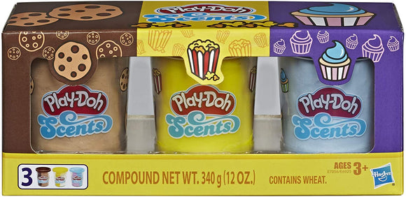 HASBRO PlayDoh - Scented Multipack Snack Pack
