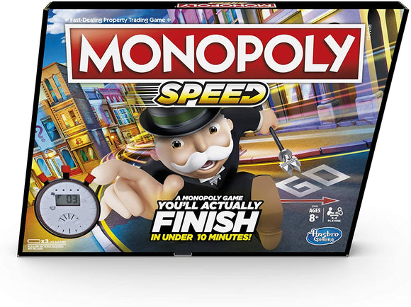 HASBRO Games - Monopoly Speed